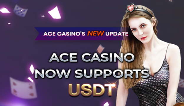 ACE CASINO Now Supports USDT