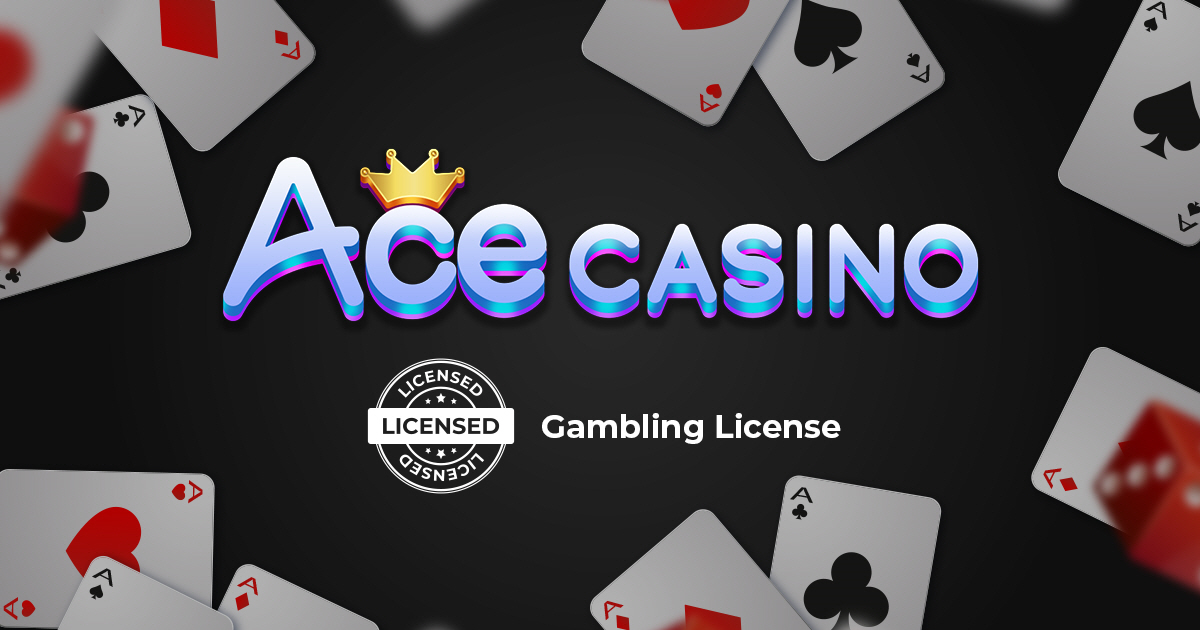ACE CASINO's gambling license