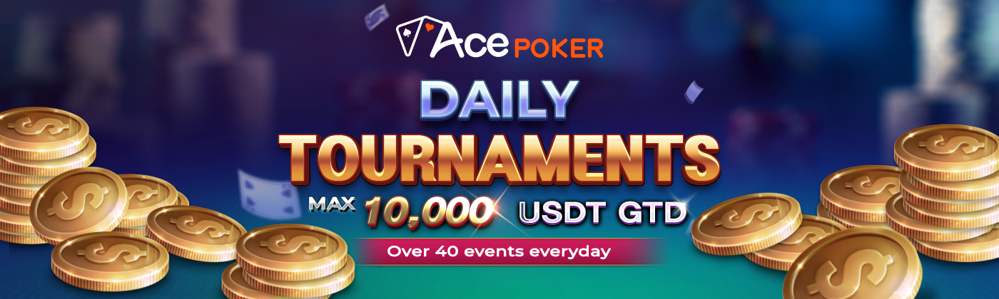 ACE Poker Daily Tournament Has Begun!