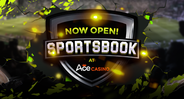Sports betting is coming to ACE CASINO!